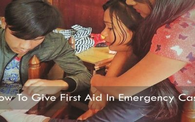 How To Give First Aid In Emergency Case